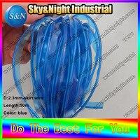 EL код Эль фальцовые провод специальный провод 2.3mm синий + Бесплатная доставка с десять цветов