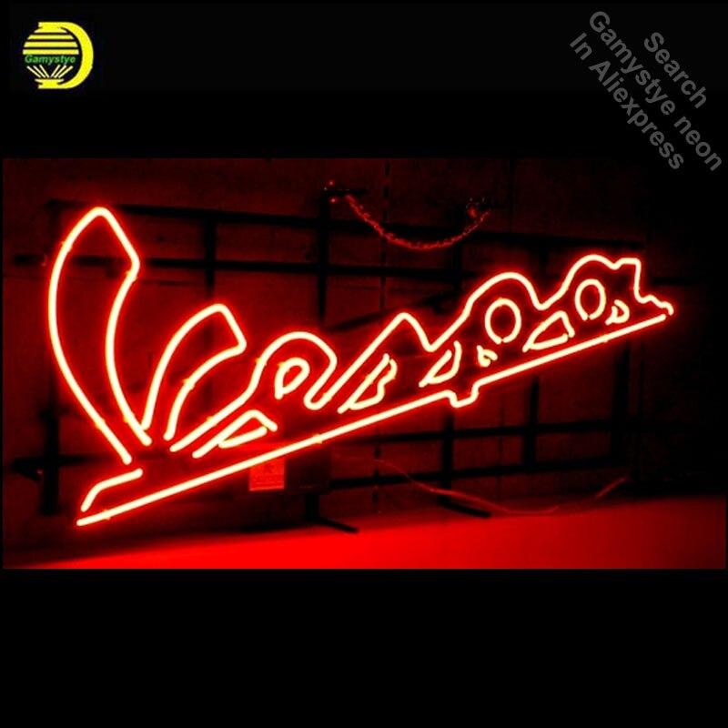 Enseigne néon pour Vespa Scooter cyclomoteur néon ampoule signe iconique artisanat personnalisé néon enseigne magasin néon appliques anuncio luminos