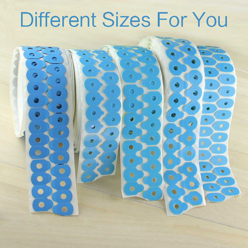(1000pcs/roll) Blocking Pads Pastilles Adhesives Protecting Lenses Sticker Pad Eyeglasses Lens Edging Pads Optical Accessories