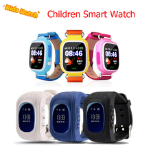 New kids smart watch niños reloj q50 q60 q90 gsm gprs localizador rastreador anti-perdida smartwatch niño guardia para ios y los androides