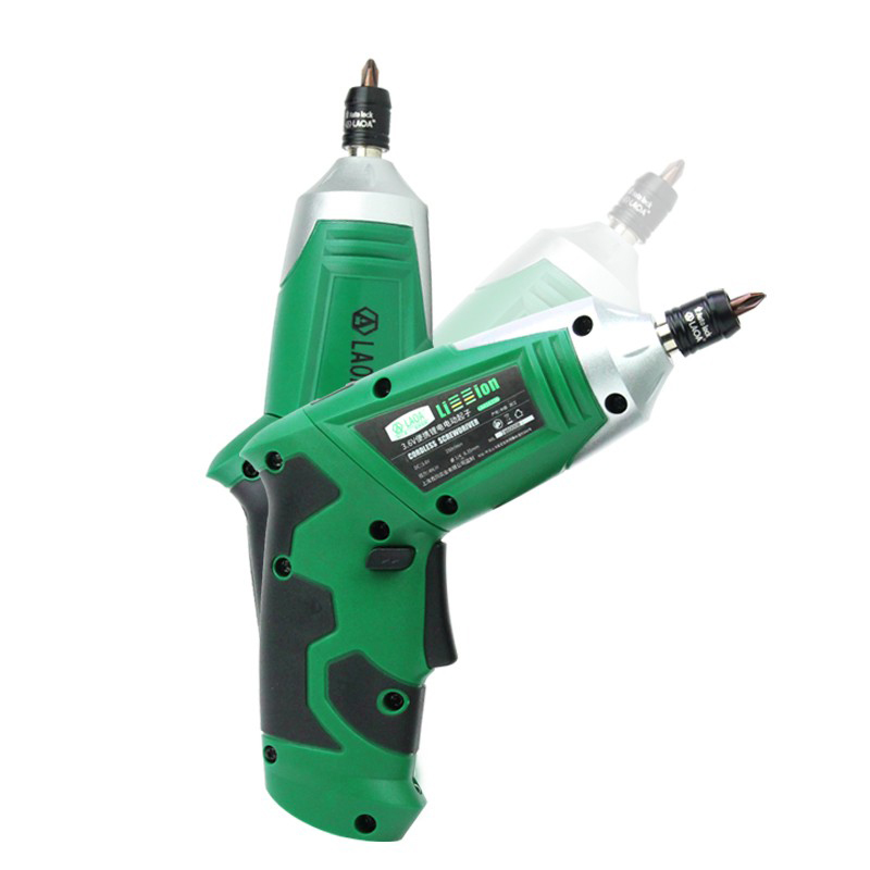 LAOA 3 6V 19 In 1 Portable Electric Screwdriver Electric Drill Chargeable Battery Cordless Drill DIY Power tools in Electric Screwdrivers from Tools