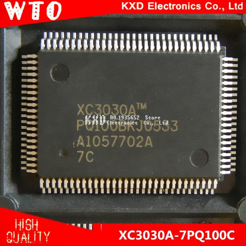Free Shipping XC3030A 7PQ100C XC3030A 7PQ100 QFP 100 10pcs lot