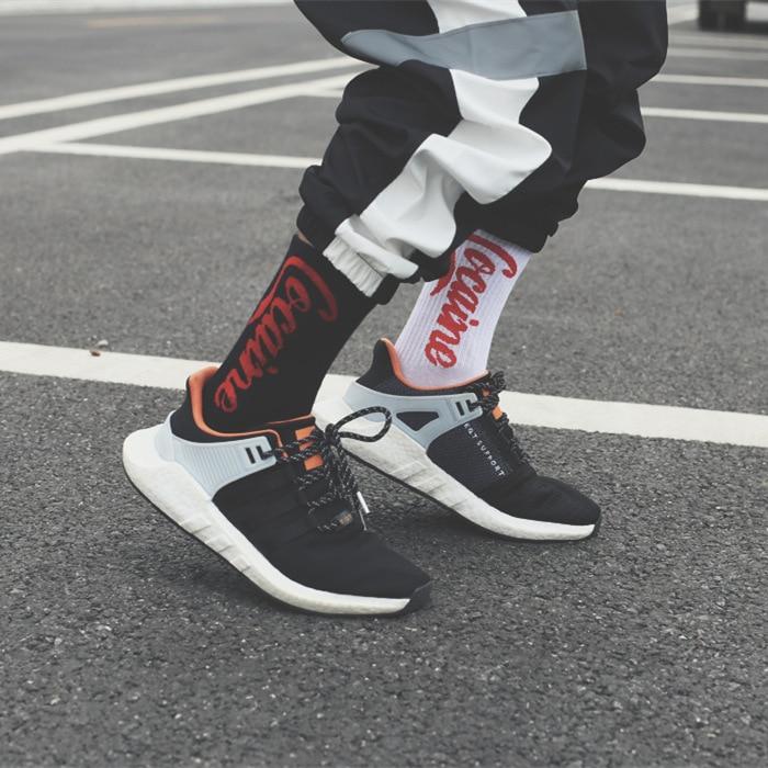 Summer Long Men's Tide Street Europe And America Hip Hop Wild Cola Socks Female Ins Skateboard Socks Unisex Harajuku Calcetines
