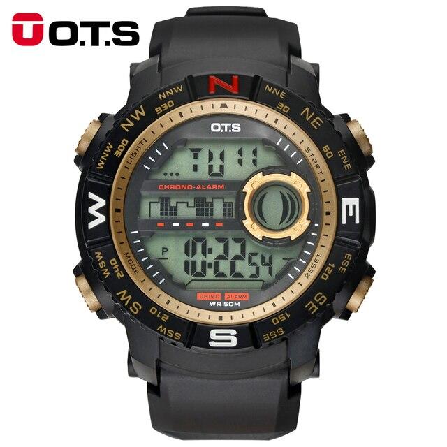 373319d6188d Relojes deportivos OTS de marca de lujo para hombre