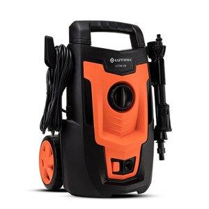 Image 2 - LT301B limpiador de alta presión con motor lavadora portátil para coche, bomba de limpieza de suelo para vehículo, 220V, 50HZ, 1,4 kW, 110Bar, 5,5 LPM