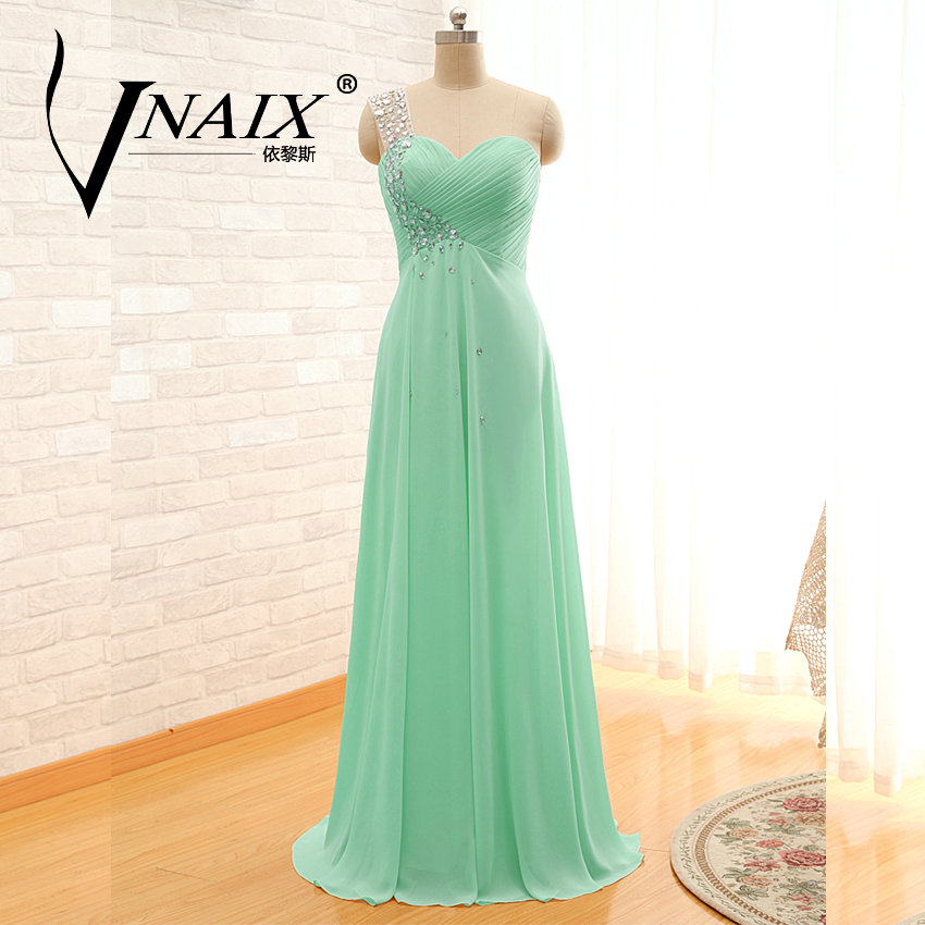 Bw05 in stock one shoulder turquoise bridesmaid dresses for Turquoise wedding guest dress