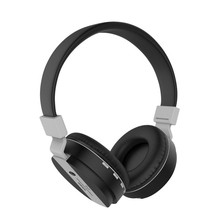 Earphones Bluetooth 4.1 Waterproof Folding  Design Headset 360 Degree Bilateral Surround Sound Wireless Music Headphones