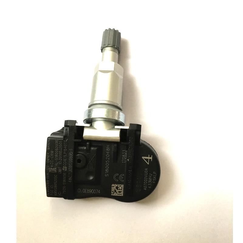 TPMS Tire Pressure Sensor 407003VU0A 40700-3VU0A 433MHZ For Nissan Note Qashqai Tiida For Hatchback X-T Renault Espace V Koleos
