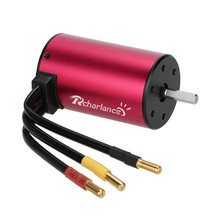 2019 Portable Suitable Charging S3660 3800KV 4 Poles Brushless Sensorless Motor For 1/8 1/10 RC Car convenient and practical