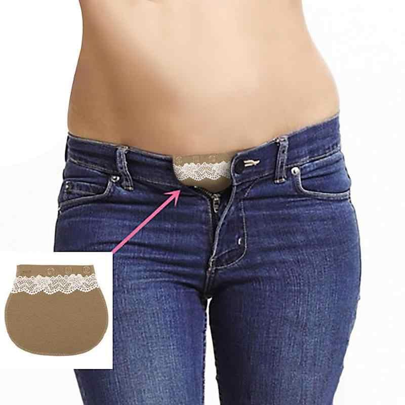 Pregnancy Comfortable Maternity Waistband Belt Adjustable Elastic Waist Extender Button Belt Garment Accessories For Pregnant