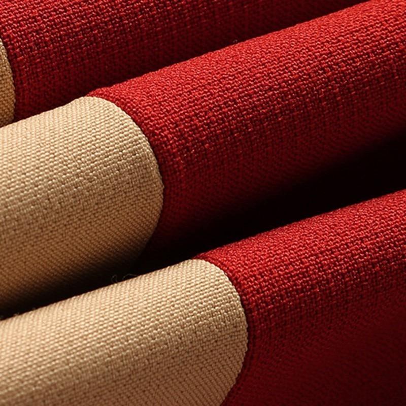 38c29f84390976 Asymétrique Haute Mode Élégante Court khaki Couleur Hit Red Vintage ...