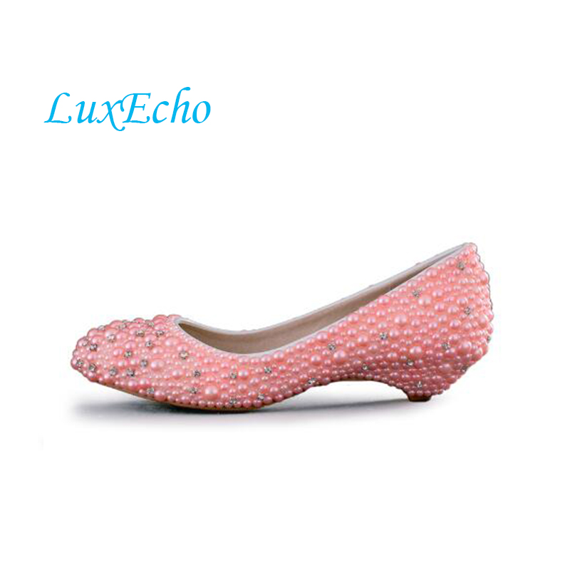 8d2e70d6c55f37 Buy bridal shoes low heel white and get free shipping on AliExpress.com
