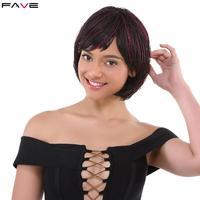Crochet Three Short Braids Bob Synthetic Wigs With Bangs Twist Hair Extensions 1b Burg Box Braiding Hair For Black Women