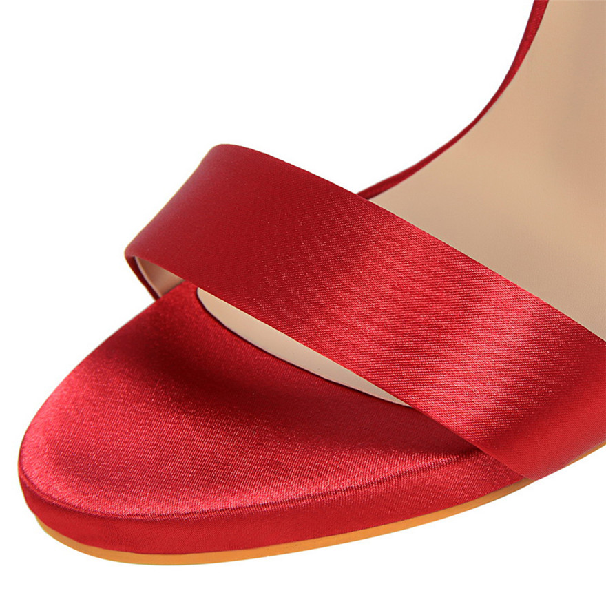 Sandalias Partido Toe Metal Colores Nueva Altos Moda Peep rose 8 2018 Mostrar púrpura Tacones De Atractivo Negro rojo plata verde Hebilla Tinto Red Las Mujeres Cinturón vino Zapatos Thin Concisas blanco Iq7wxa