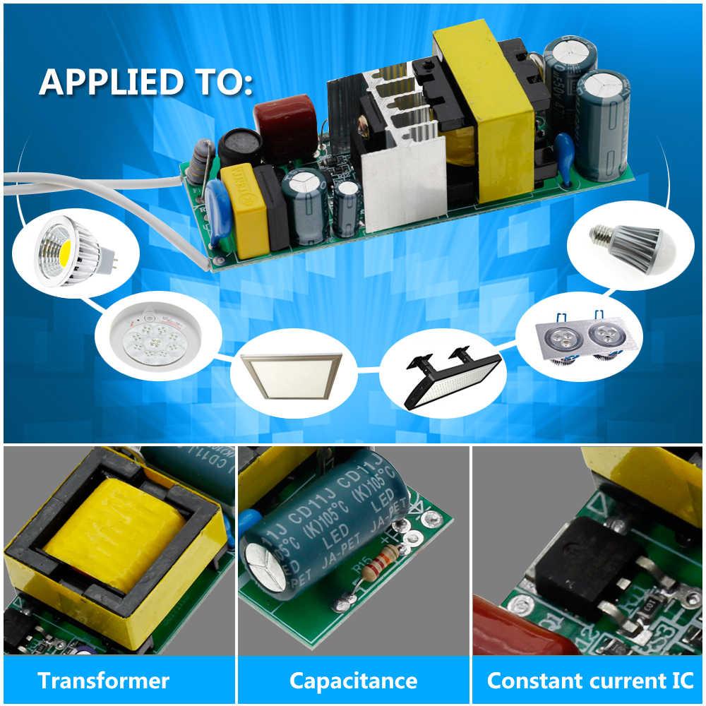 Изолирующий светодиодный драйвер 1-3 Вт 4-7 Вт 8-12 Вт 18-25 Вт 25-36 Вт постоянный источник питания встроенный Трансформатор освещения.