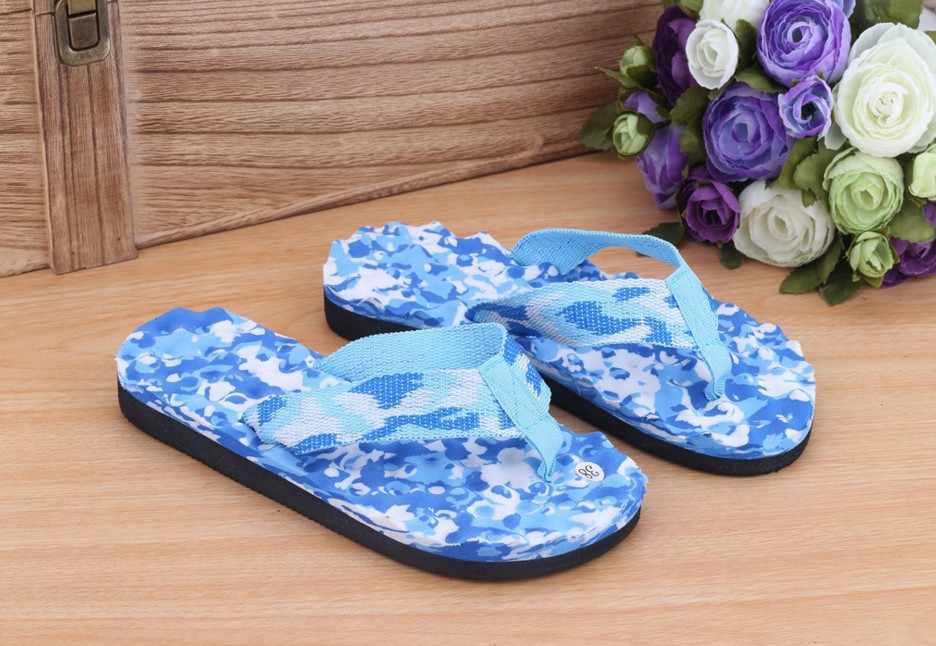 Женские пляжные вьетнамки, модная камуфляжная обувь для воды, женские летние шлепанцы, обувь унисекс для влюбленных пар, сандалии для улицы, Pantufas