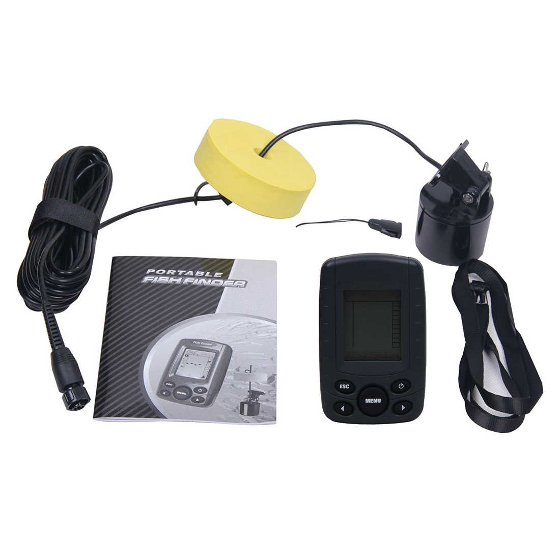 online buy wholesale boats portable depth finders from china boats, Fish Finder