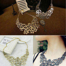 Western pendants promotion shop for promotional western pendants on hot sale western style vintage multilayer pendants rhinestone gold color hollow flowers necklace jewelry statement mozeypictures Image collections