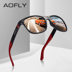 AOFLY Polarized Sunglasses Men Women Original Brand Designer Polaroid Reflective Mirror Sun Glasses Unisex Goggle gafas de sol