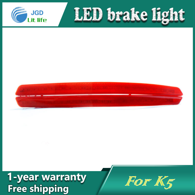 Car Styling Rear Bumper LED Brake Lights Warning Lights case For KIA k5 2011 2012 Accessories Good Quality car styling rear bumper led brake lights warning lights case for mazda atenza accessories good quality