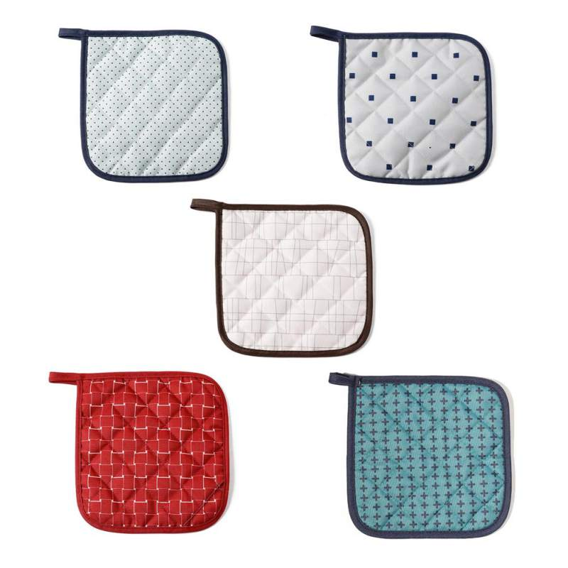 2019 Home Kitchen Fabric Insulation Heat Resistant Table Mat Coasters Bowl Mat Pot Mat Anti Hot Pad in Mats Pads from Home Garden