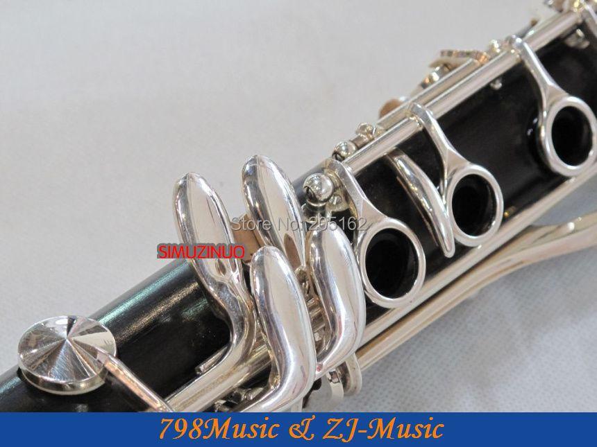 Grenadilla Druri i Zi prej druri-Një klarinetë-NEW AAAAA - Instrumente muzikore - Foto 3