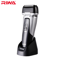 RIWA Waterproof Electric Razor For Men Beard Trimmer Rechargeable Rotary Shaver RA-5501 With A Gift