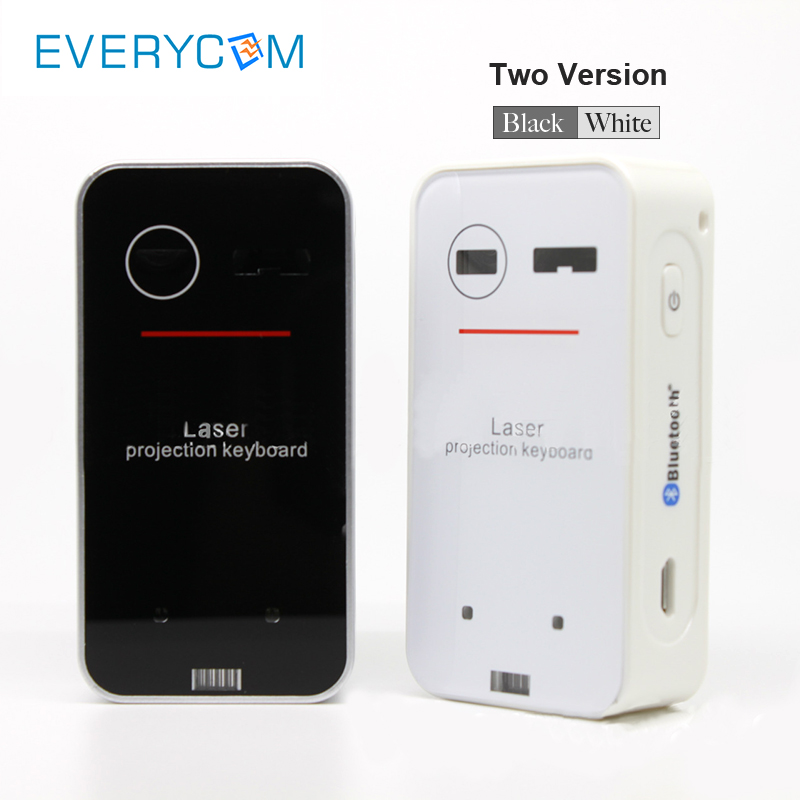Everycom Projector Accessory Portable Bluetooth Laser Keyboard Wireless Virtual Projection for Iphone Android Smart Phone Ipad T