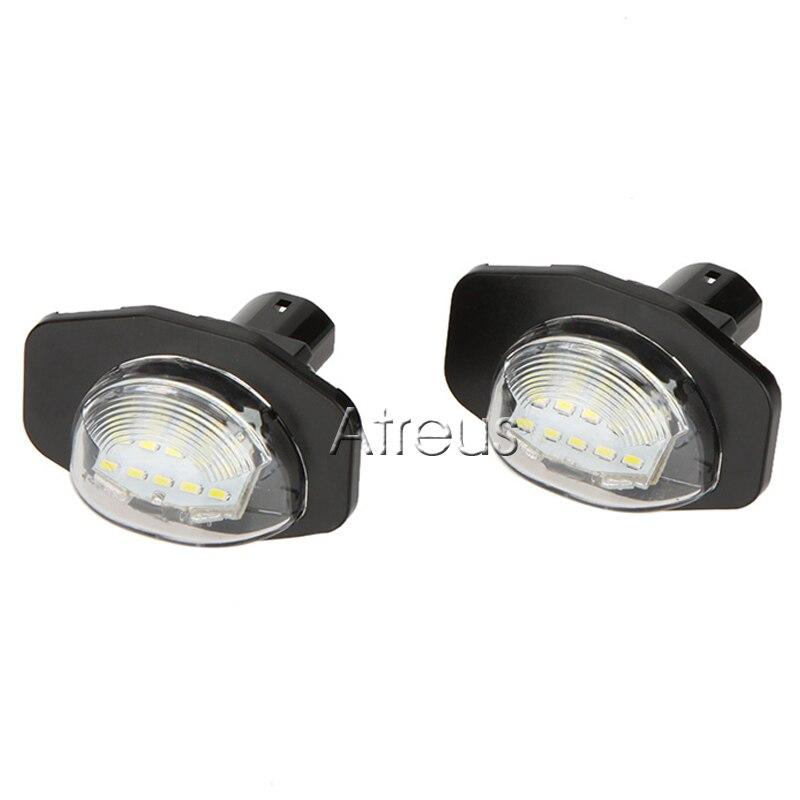 2X LED φώτα πινακίδας αυτοκινήτου 12V SMD3528 - Φώτα αυτοκινήτων - Φωτογραφία 2