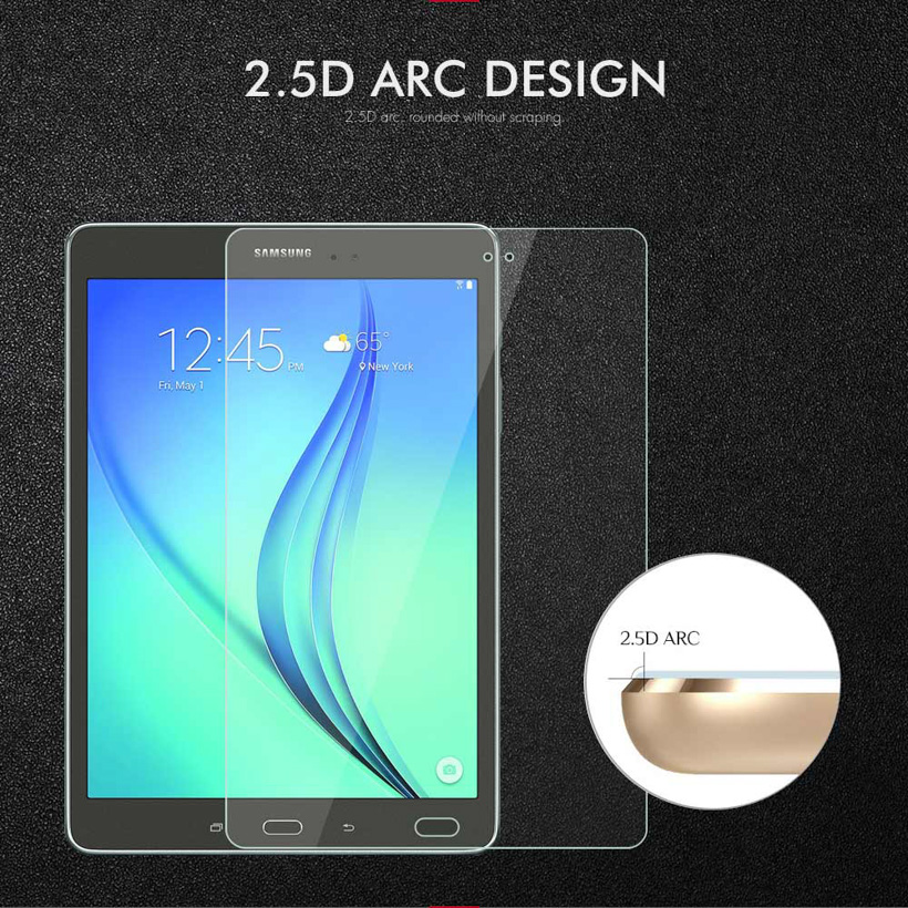 Soaptree Tempered Glass For Samsung Galaxy Tab A 7 0 8 0 9 7 10 1 10 5 Tablet Screen Protectors in Tablet Screen Protectors from Computer Office