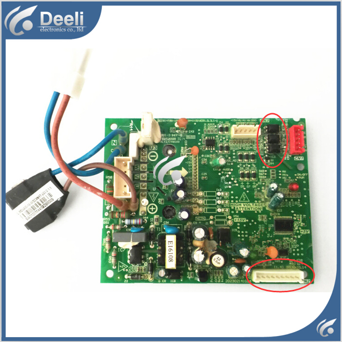 95% new for Air conditioning computer board DCFAN-ME-POWER-15A PC board 95% new