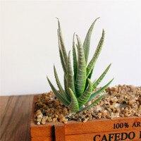 Aloe vera artificielle en pot 1