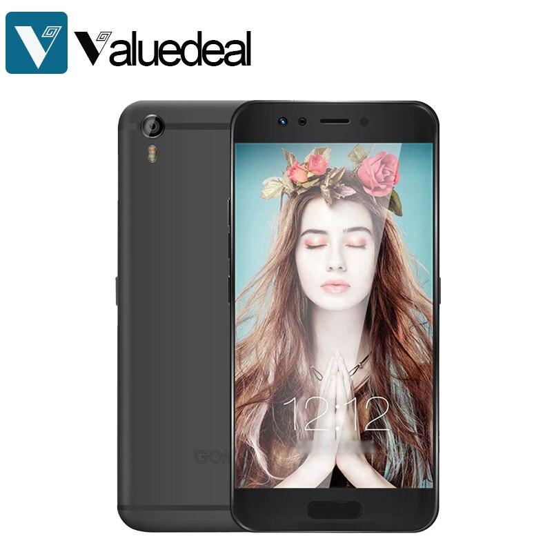 Original GOME K1 Android 6.0 5.2 Inch 4G LTE Smartphone FHD Screen 4GB RAM 128GB ROM Helio P20 MTK6757 2.3GHz Octa Core phone