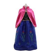 цена на Roupas Infantis Menina 2019 Year New Kids Anna Elsa Costume Dress For Girls Princess Dresses Children Party Fairy Tales Cos