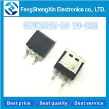 10pcs/lot  SUM45N25-58  SUM45N25 45N25   N-Channel 250V 45A MOSFET  TO-263