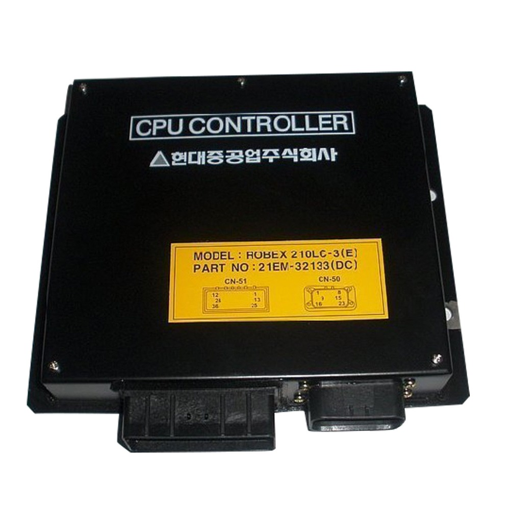 Robex 220-5 R220LC-5 ECU Controller 21EM-32133 (DC), Control Panel for Hyundai Excavator CPU Box, 1 year warrantyRobex 220-5 R220LC-5 ECU Controller 21EM-32133 (DC), Control Panel for Hyundai Excavator CPU Box, 1 year warranty