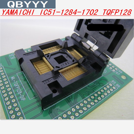 QBYYY Original Japonais YAMAICHI IC51-1284-1702 TQFP128 Ic testeur LQFP128 Programmeur TQFP128 Programmeur LQFP128 DIP128