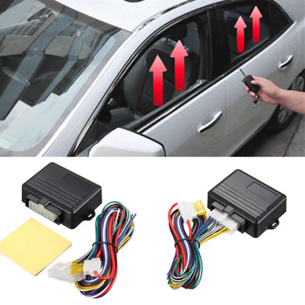 Intelligent Window Coser Back To Search Resultsautomobiles & Motorcycles Punctual 2 Door 12v plastic Auto Safety Power Window Roll Up Closer Module For Car Alarm Black Car Accessories Clients First