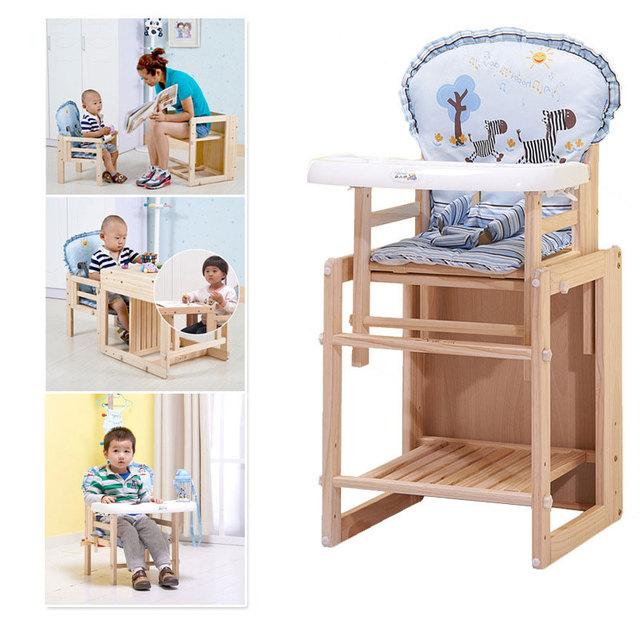 Salvar jantando a cadeira de alimentação do bebê 1 peça Assento Do Bebê Cadeira de segurança do Assento do bebê cadeira de jantar de madeira maciça bebê alta A009