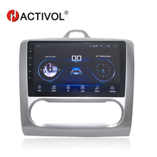 """HACTIVOL 2 din 9 """"Android 8.1 voiture dvd multimédia pour Ford Focus 2 2005-2011 Mondeo Galaxy s-max smax Kuga c-max gps wifi navi"""