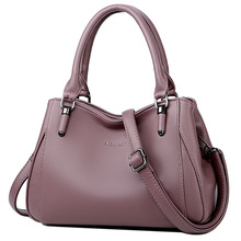 2019 Luxury Brand Women Leather Handbag 100% Genuine Leather Casual Tote Bags Female Big Shoulder Bags for Women women luxury brand 100