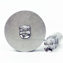цена на Owl 7.11x8.63mm Milk Tablet Die 3D Punch Press Mold Candy Punching Die Custom Logo Calcium Tablet Punch Die