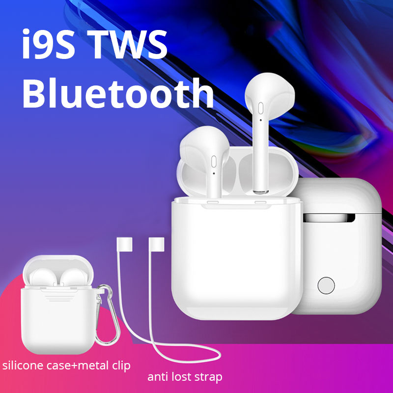 i9s TWS Mini Bluetooth Earphone Stereo Music Wireless Earphones Super Bass HiFi Headset with Mic for Meizu for Huawei P20 Xiaomi