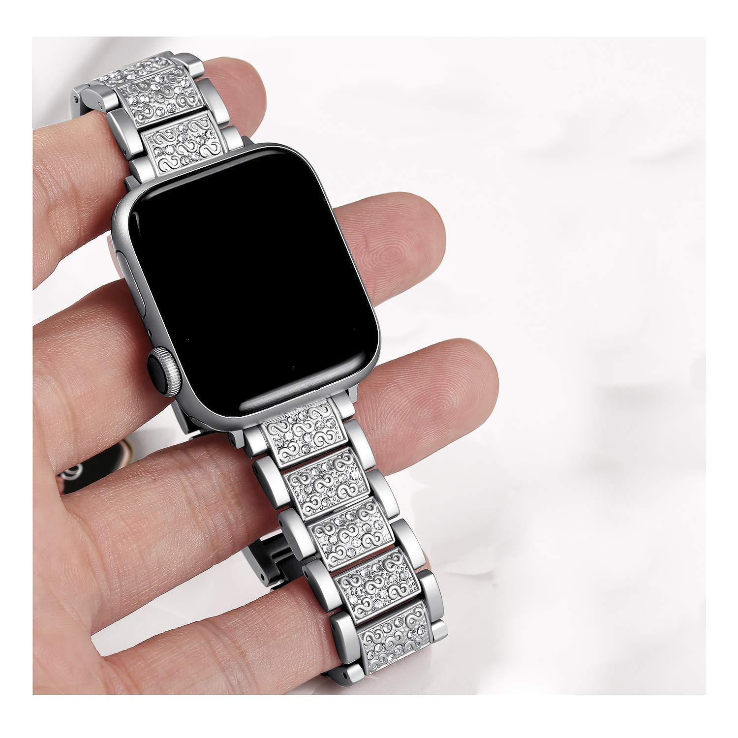 Women Diamond Band for Apple Watch 7