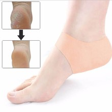 1 Pair Silicone Foot Chapped Care Tool Moisturizing Gel Heel Socks Cracked Skin Care Protector Pedicure Health Monitors Massager