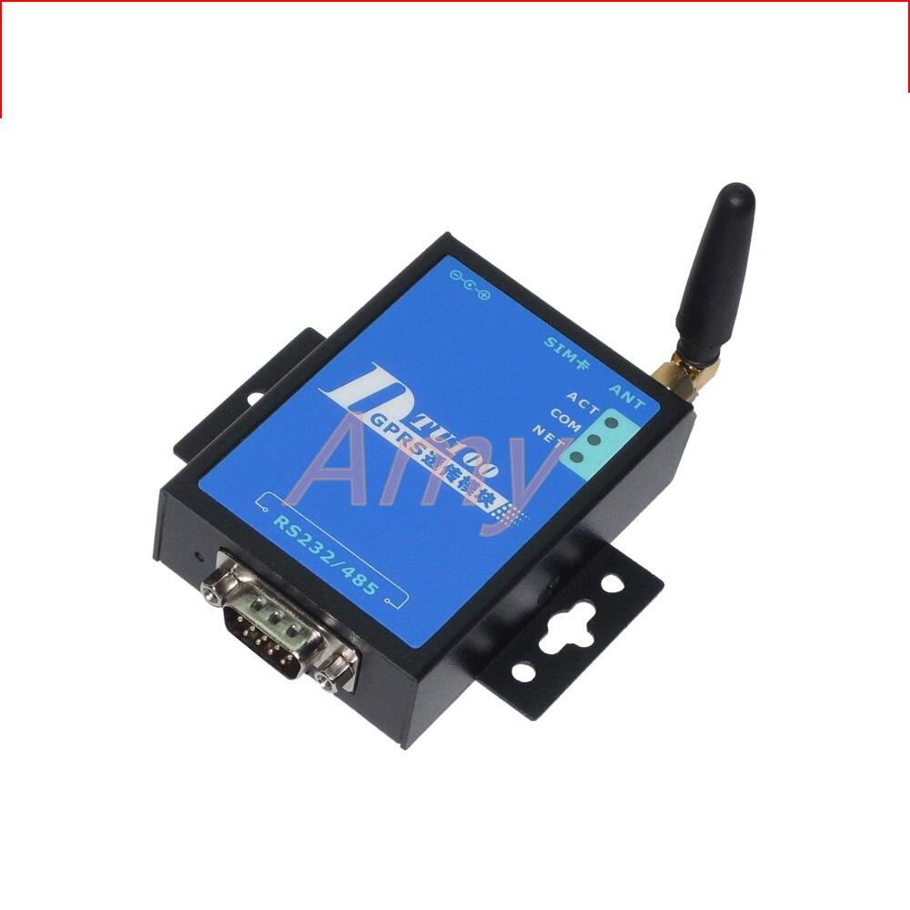 Industrial DTU Module Serial Port Server Serial To GPRS Wireless Turn 485 GPRS To Serial Port DTU100