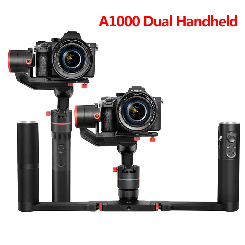 FeiyuTech Feiyu A1000 3-Axis Stabilizer Dual Handled Gimbal for Micro-SLR A6500 A6300 GoPro Hero 5 Payload 150-1000g huangshan 1000g page 5
