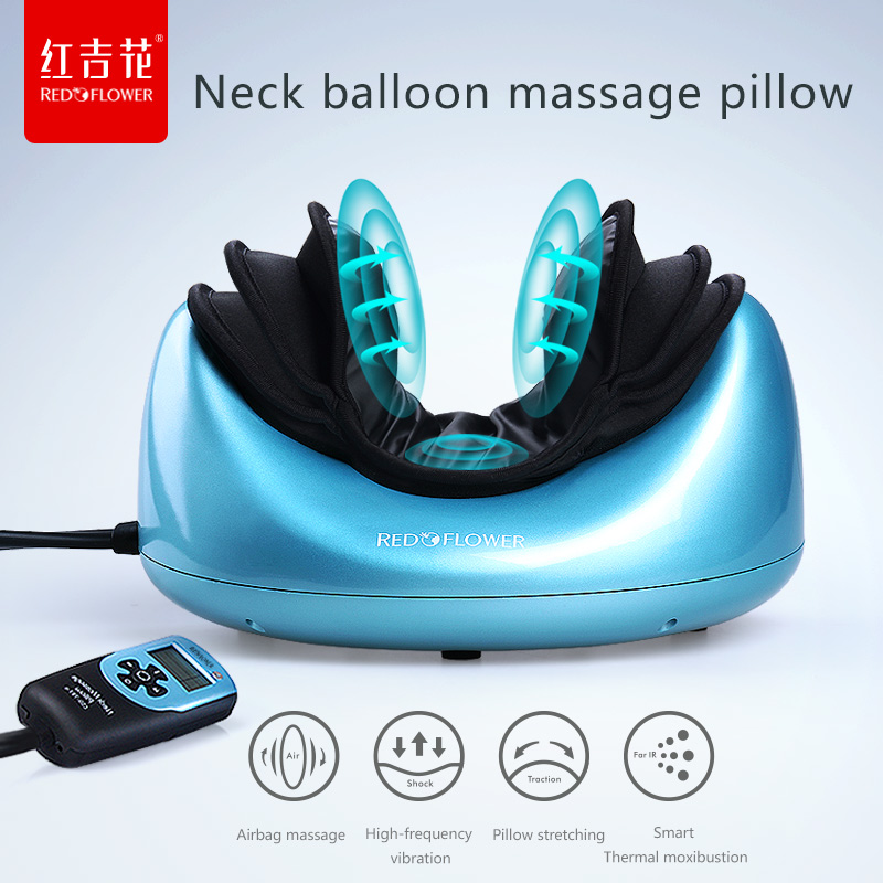 Neck Traction Cervical Massage Electric Heating Shiatsu Acupressure Pillow Massager Car Pillow Home Masaj Reflexology Masaje synthia andrews acupressure and reflexology for dummies
