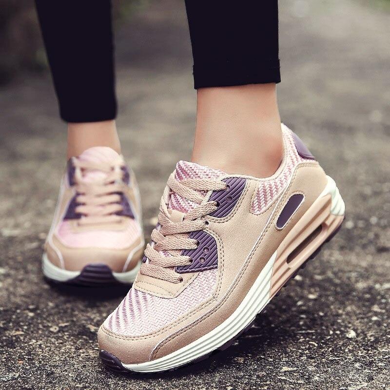 2018 printemps et été Designer plate-forme Sneakers femmes chaussures décontracté Air Mesh femmes chaussures