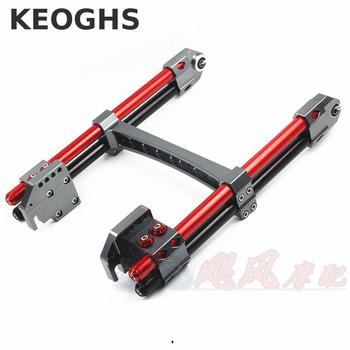 KEOGHS Electric Motorcycle swing arm Rear Flat Fork All Cnc Aluminum For Yamaha Scooter Bws Cygnus-x Modified